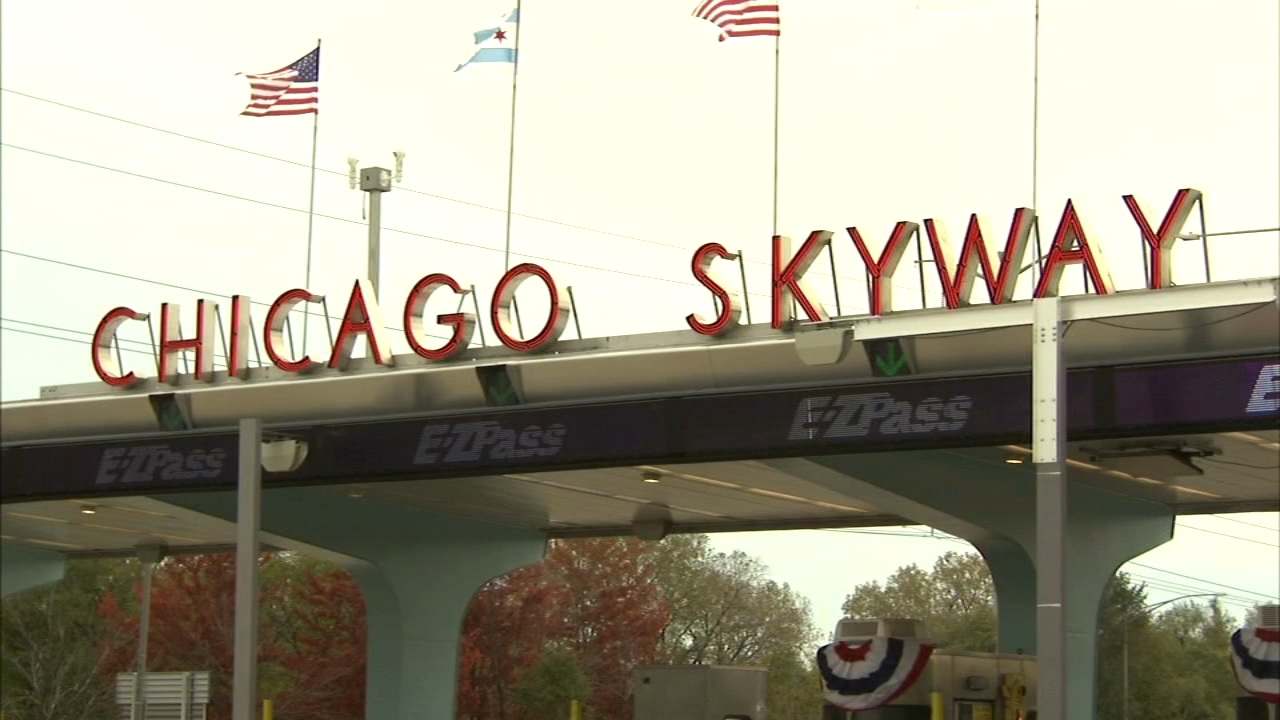 Officials from the Chicago Skyway and local government celebrated the grand re-opening of the Chicago Skyway canopy with a marching band and appropriate pomp and circumstance.