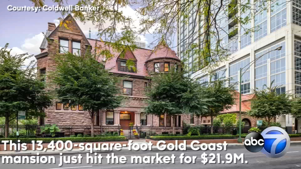 A fully renovated historic Gold Coast mansion hit the public market for $21.9 million this week.