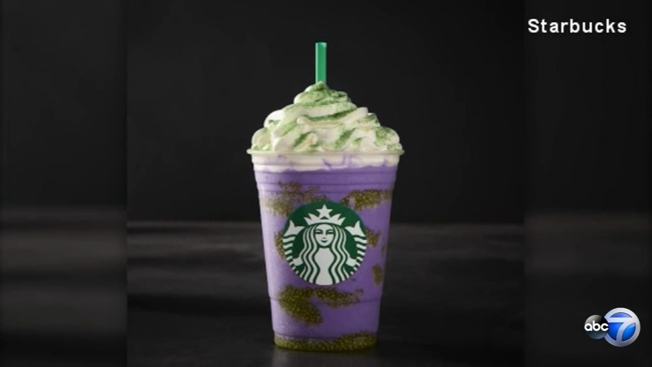 Starbucks is getting into the Halloween spirit with a playfully frightening Frappuccino called Witchs Brew.