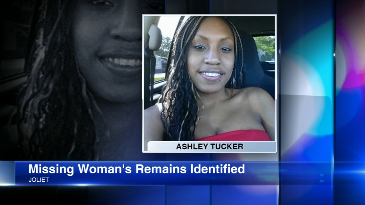 The remains of Ashley Tucker, 25, were identified after they were found in a barrel in Lockport Township. The Joliet woman had been missing since Oct. 13.