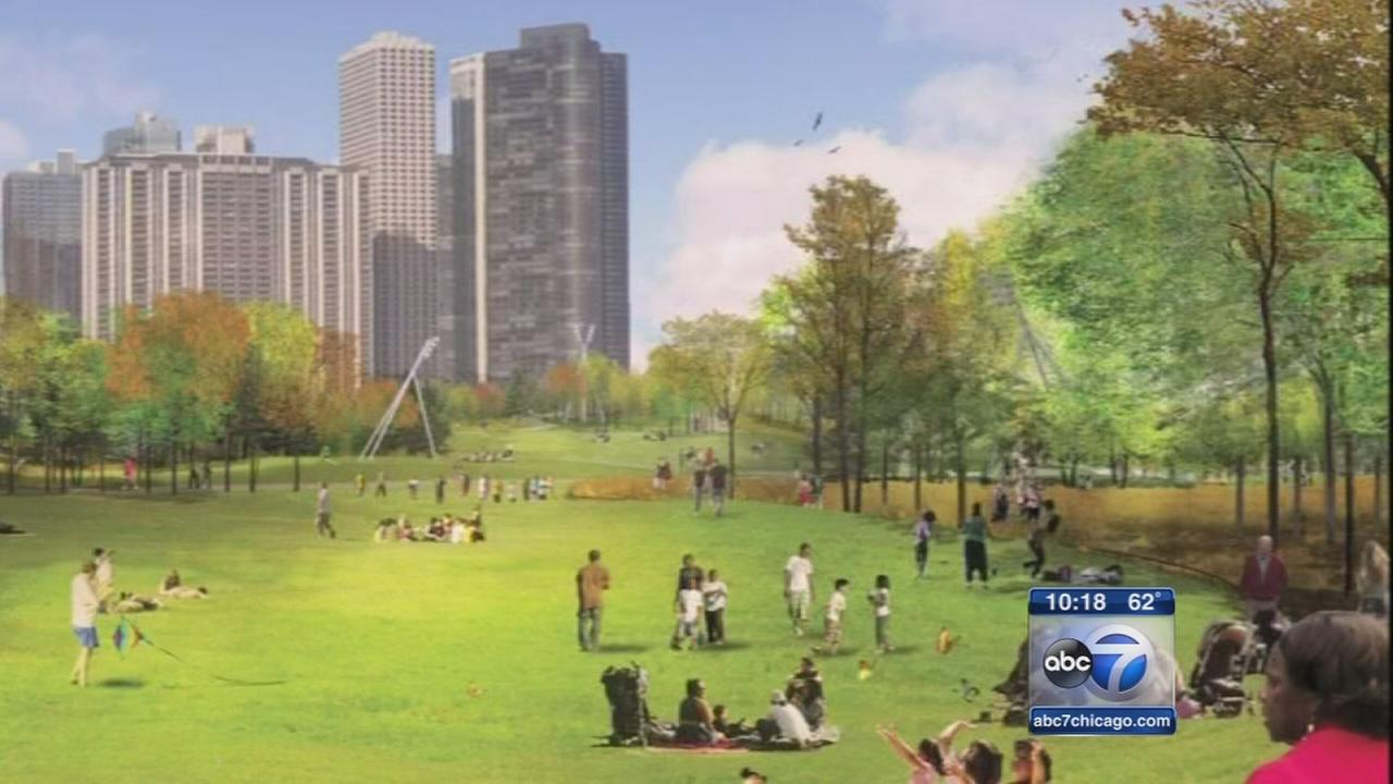Maggie Daley Park to turn garage into rolling hills