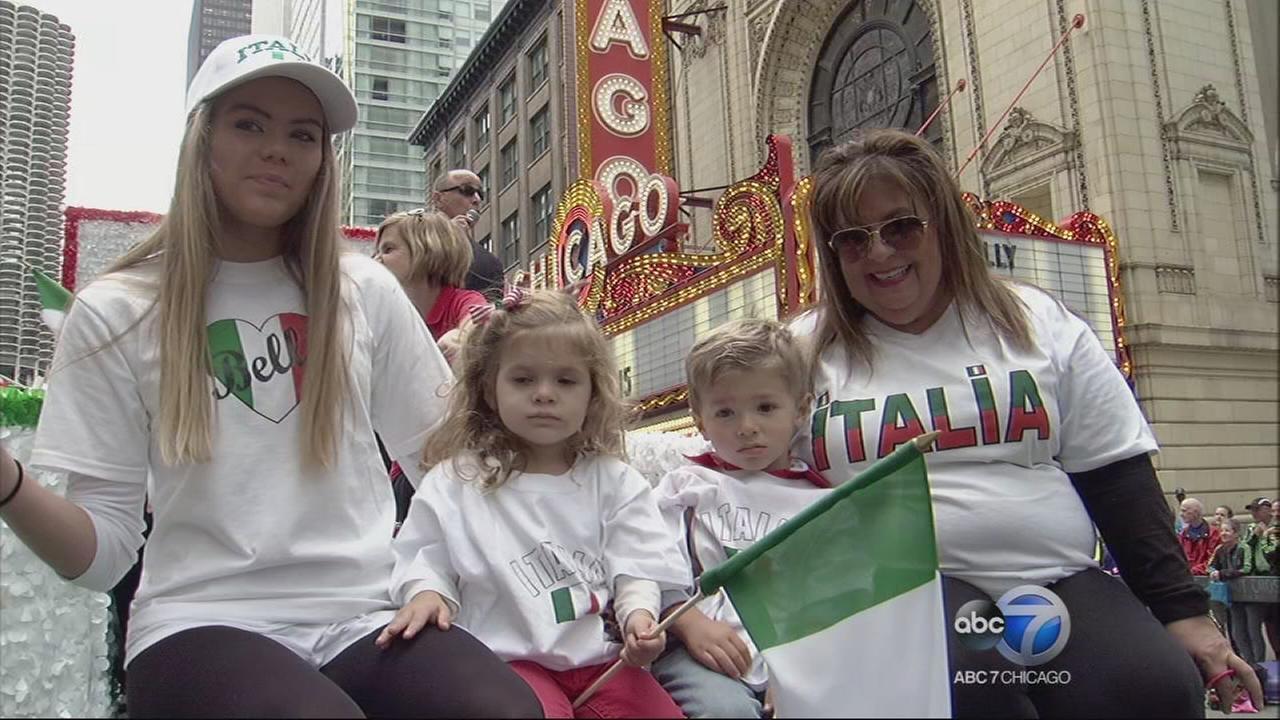 Chicago Columbus Day Parade - Part 1