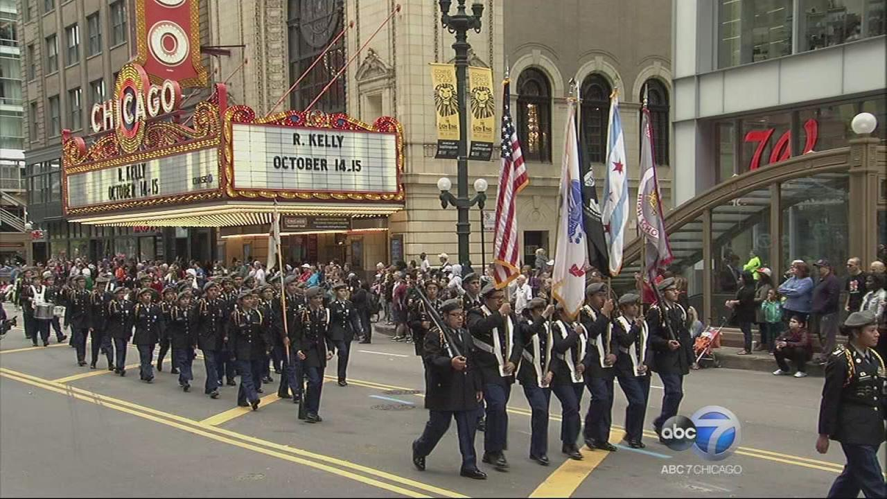 Chicago Columbus Day Parade - Part 4