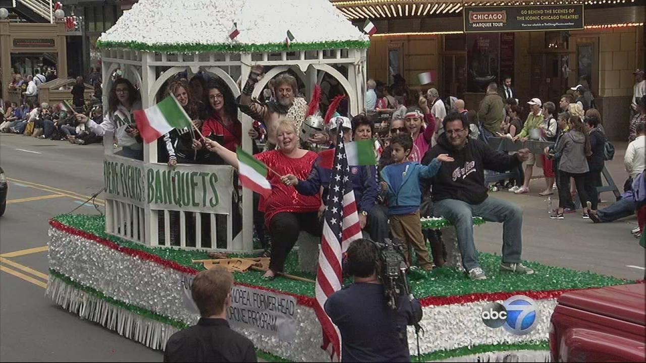 Chicago Columbus Day Parade - Part 9