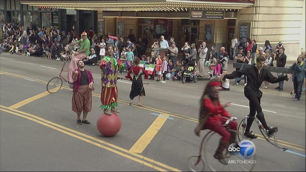 Chicago Columbus Day Parade - Part 8