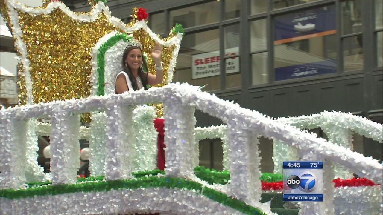 Columbus Day Parade highlights