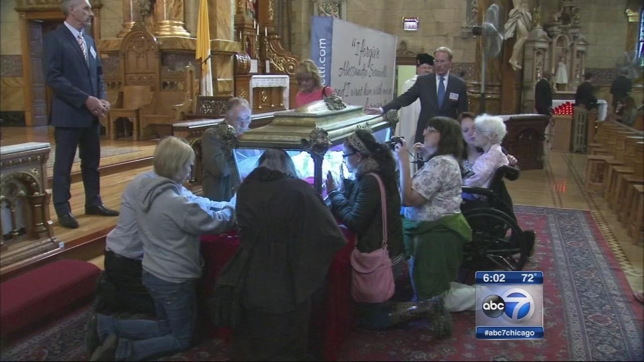 St. Maria Goretti relic comes to Chicago