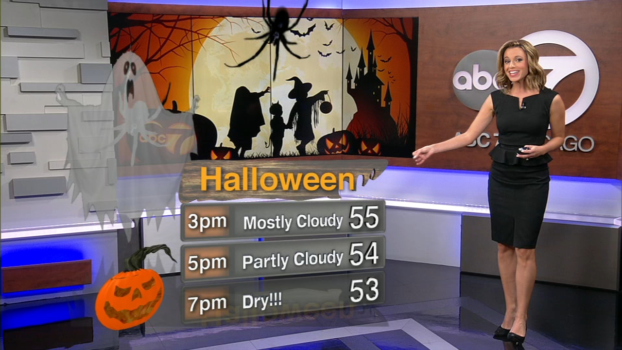 Nothing scary about this forecast! In fact, its safe say it will be SPOOKtacular Weather for Halloween in Chicago.
