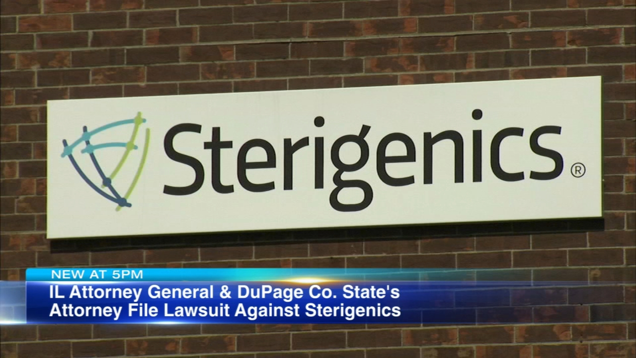 Sterigenics in Willowbrook allegedly is polluting the air with toxic chemical ethylene oxide (EtO), the Illinois Attorney Generals Office alleges.