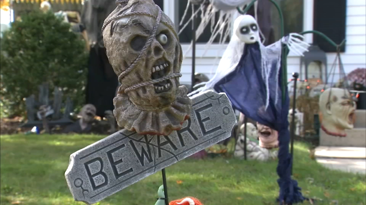 The witching hour is fast approaching, and as children rush home to put on their costumes there is a very special group of adults in Elmhurst who put serious effort into the spooki