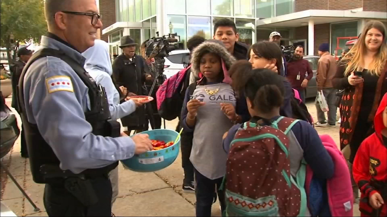 They refuse to live in fear, but with a killer still on the loose Rogers Park families opted for some precautions and safer community celebrations this Halloween.