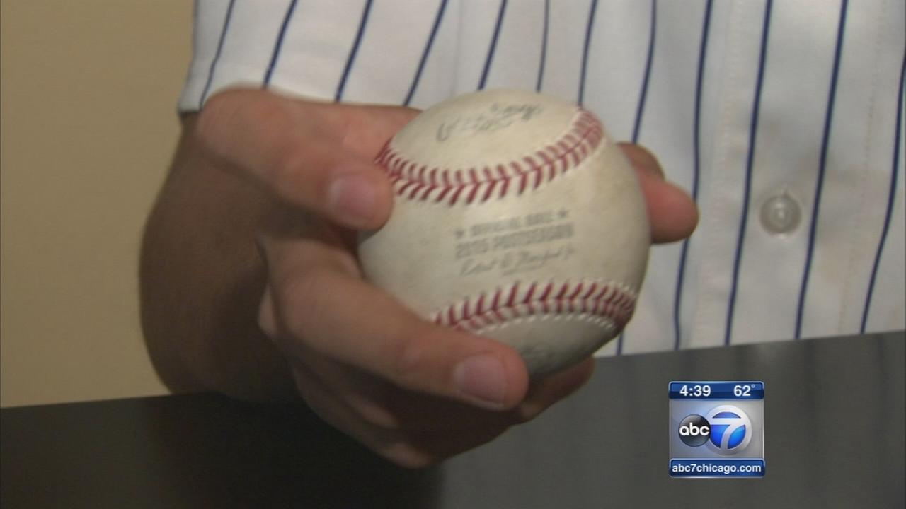 Six lucky fans take home Cubs home run balls