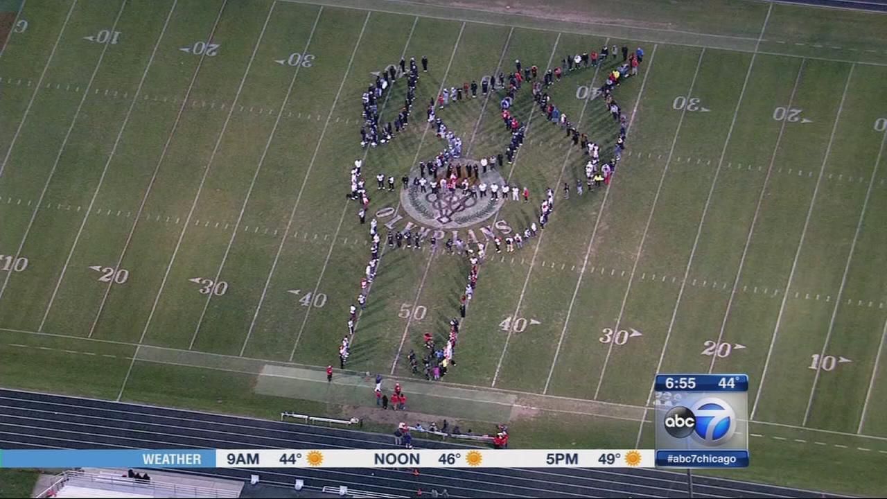 Friday Flyover Rich Central High School