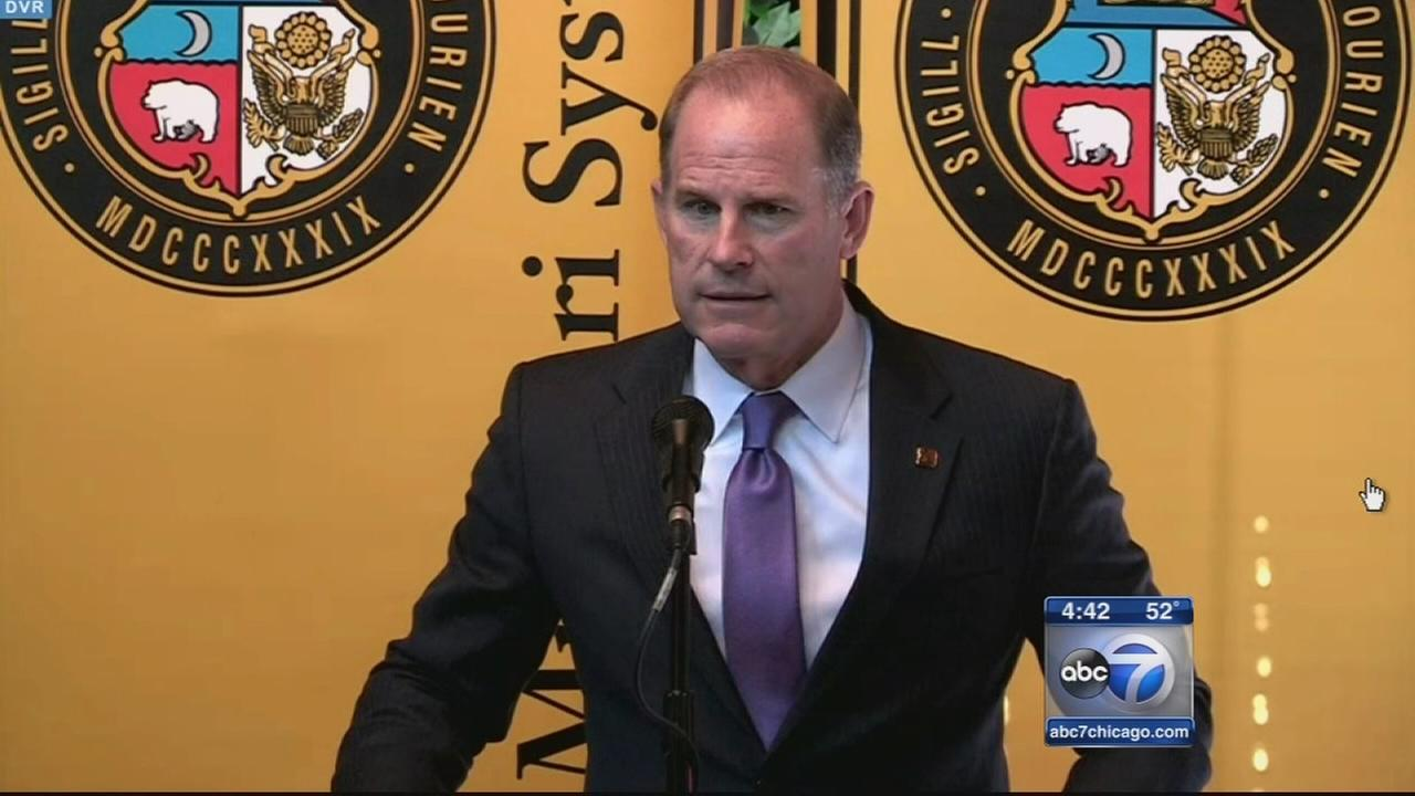 Mizzou president resigns amid racial controversy