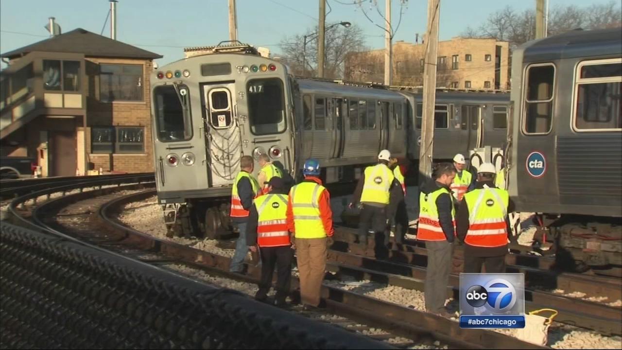 Brown Line derailment