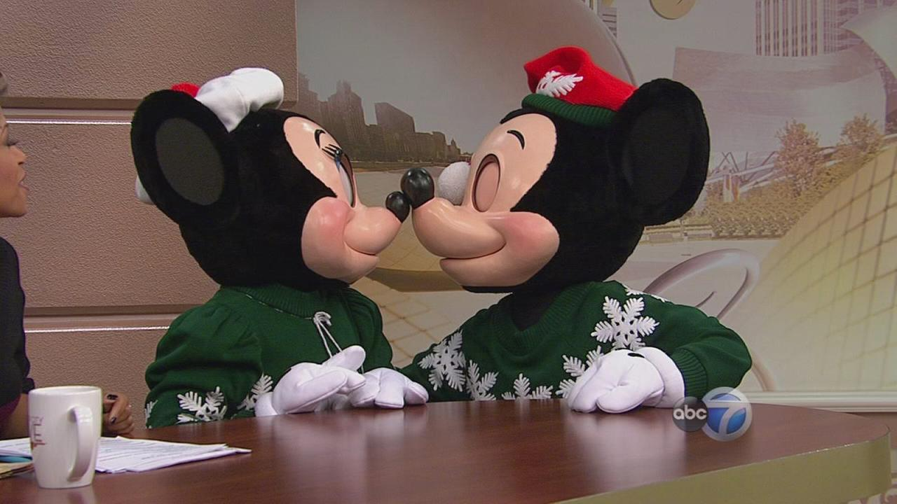Mickey and Minnie visit WCL