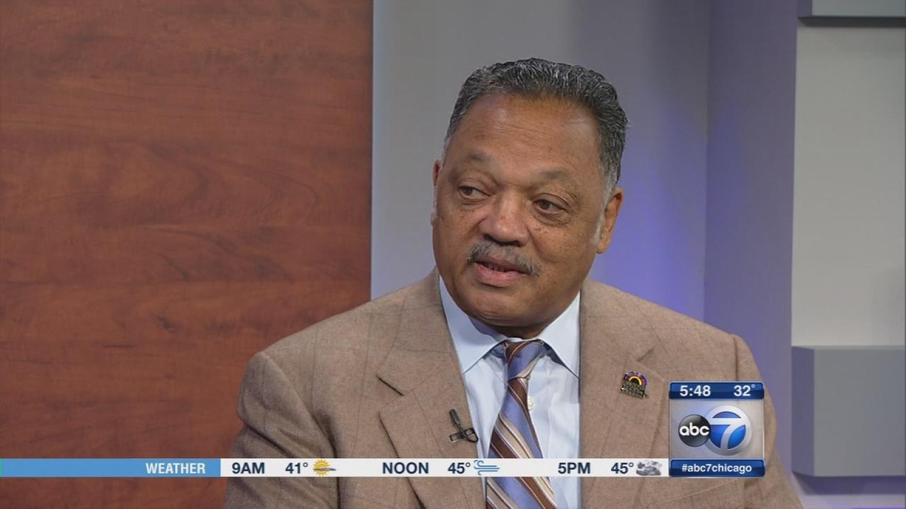Jesse Jackson weighs in on refugee debate, Laquan McDonald video, Tyshawn Lee