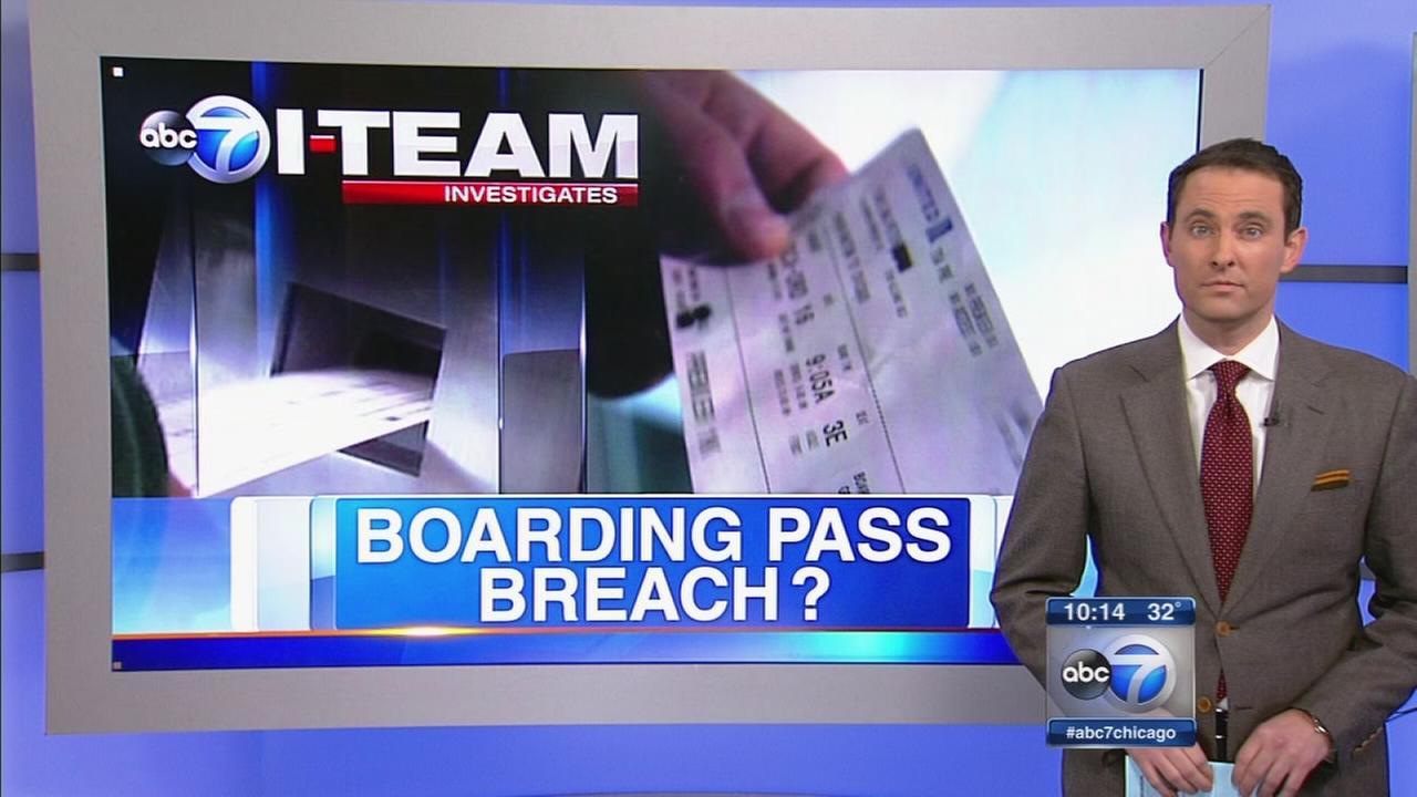Boarding pass breach