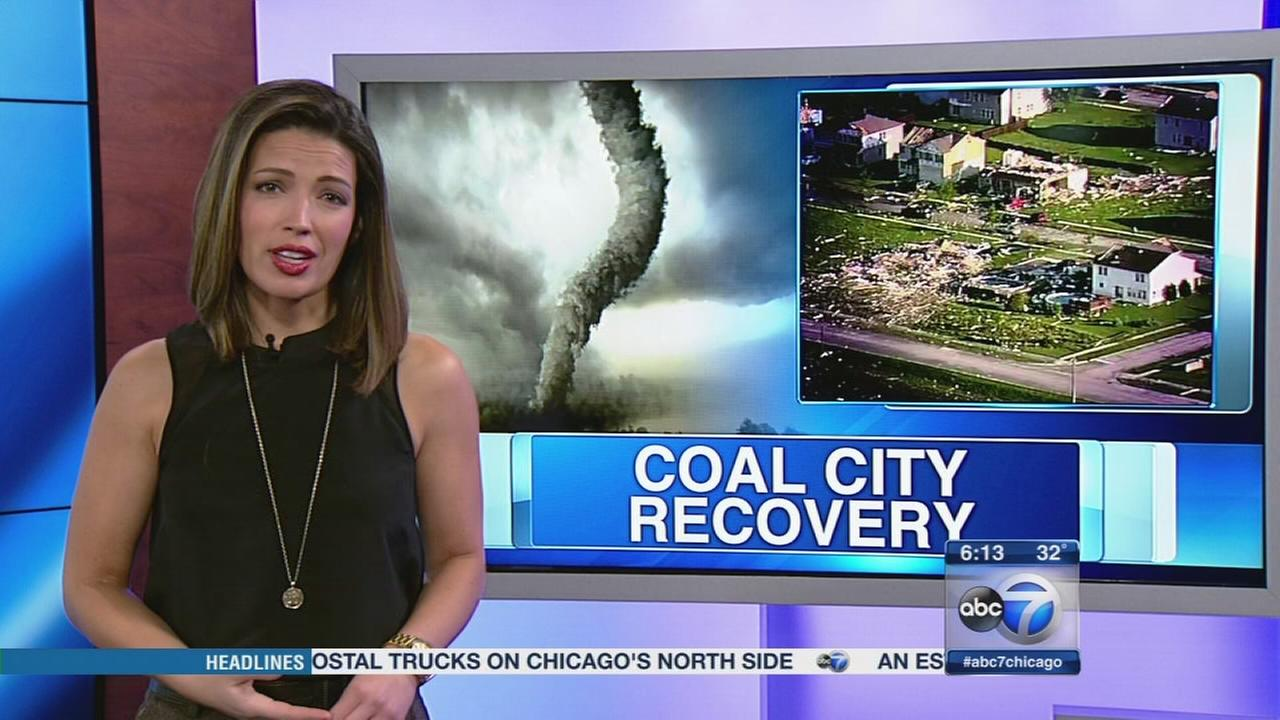 Coal City tornado victims moving home in time for holidays
