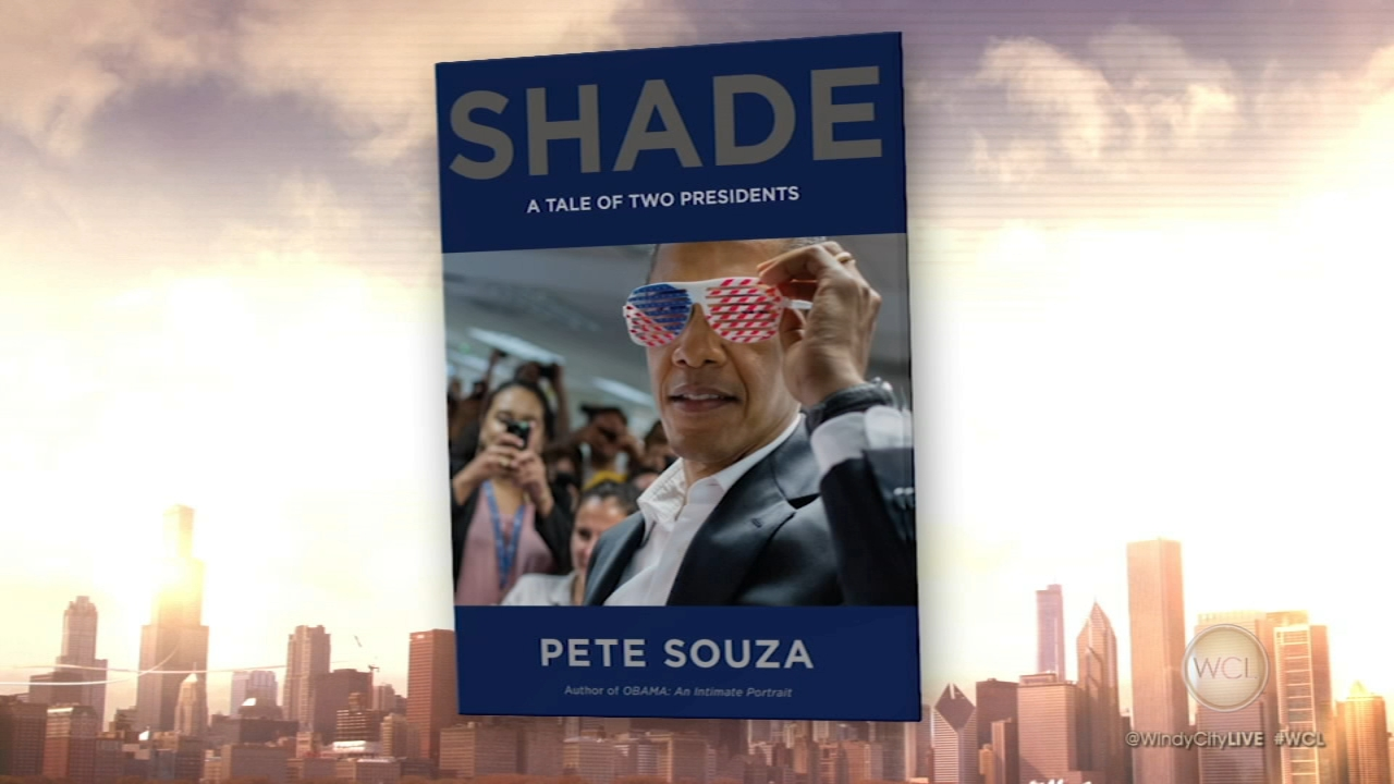 Pete Souza, the former White House photographer under President Obama, stopped by Windy City LIVE to chat about his new book, Shade: A Tale of Two Presidents.