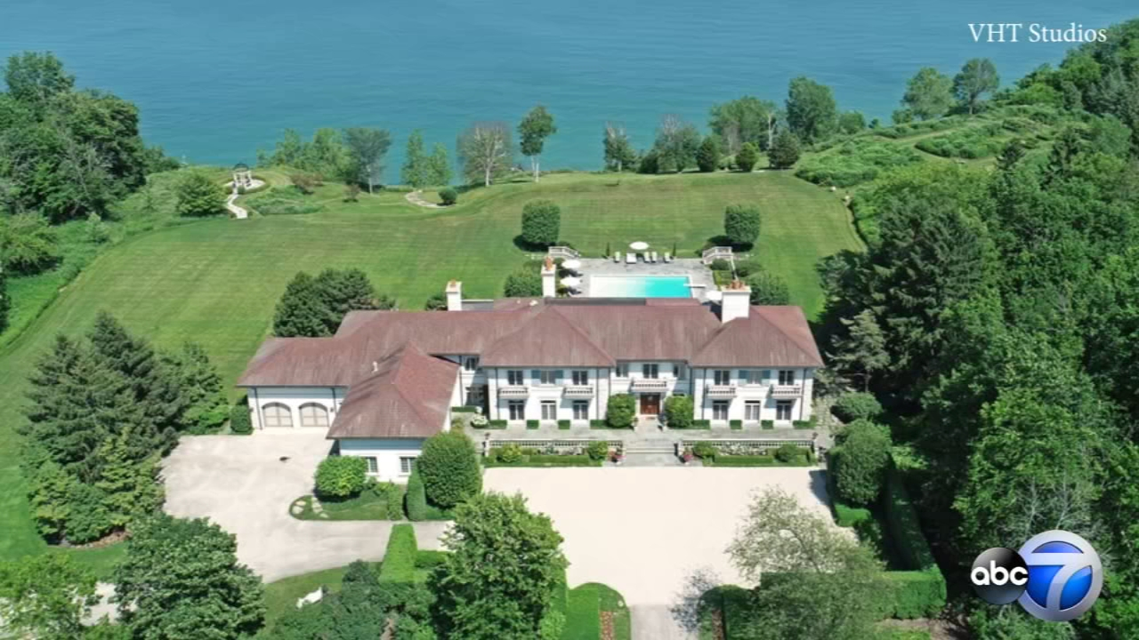 A massive estate that overlooks Lake Michigan has just been listed for sale in north suburban Lake Bluff for nearly $20 million.