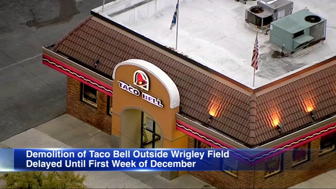 The infamous Wrigleyville Taco Bell got an extended lease on life Thursday.