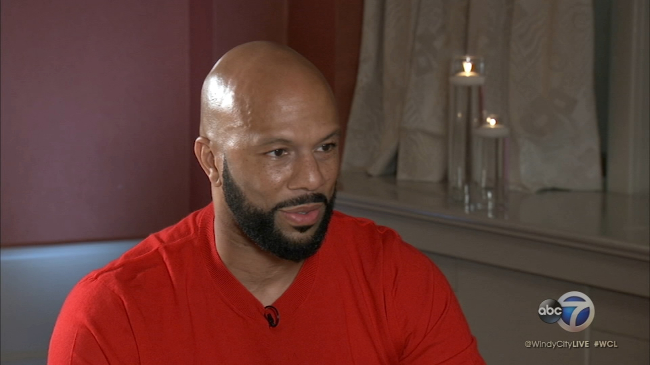 Val sat down with the rapper Common.