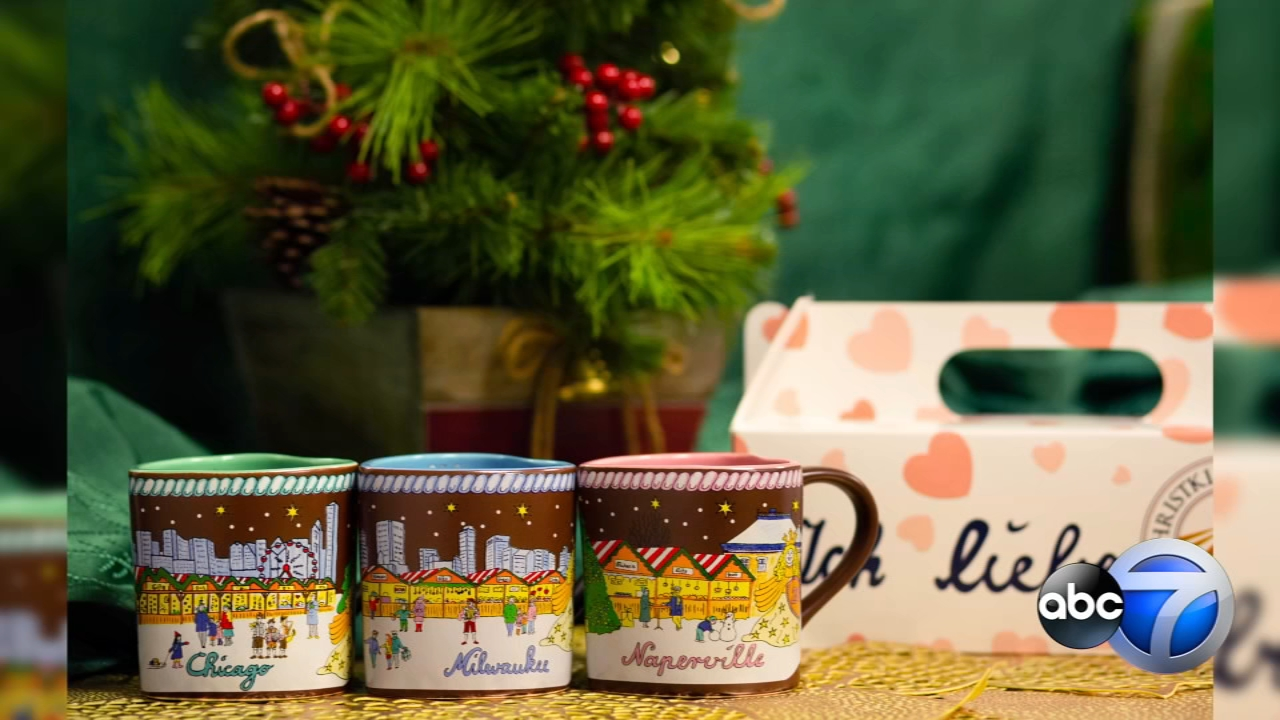 This year's Christkindlmarket souvenir mug designs and opening date were revealed Friday.