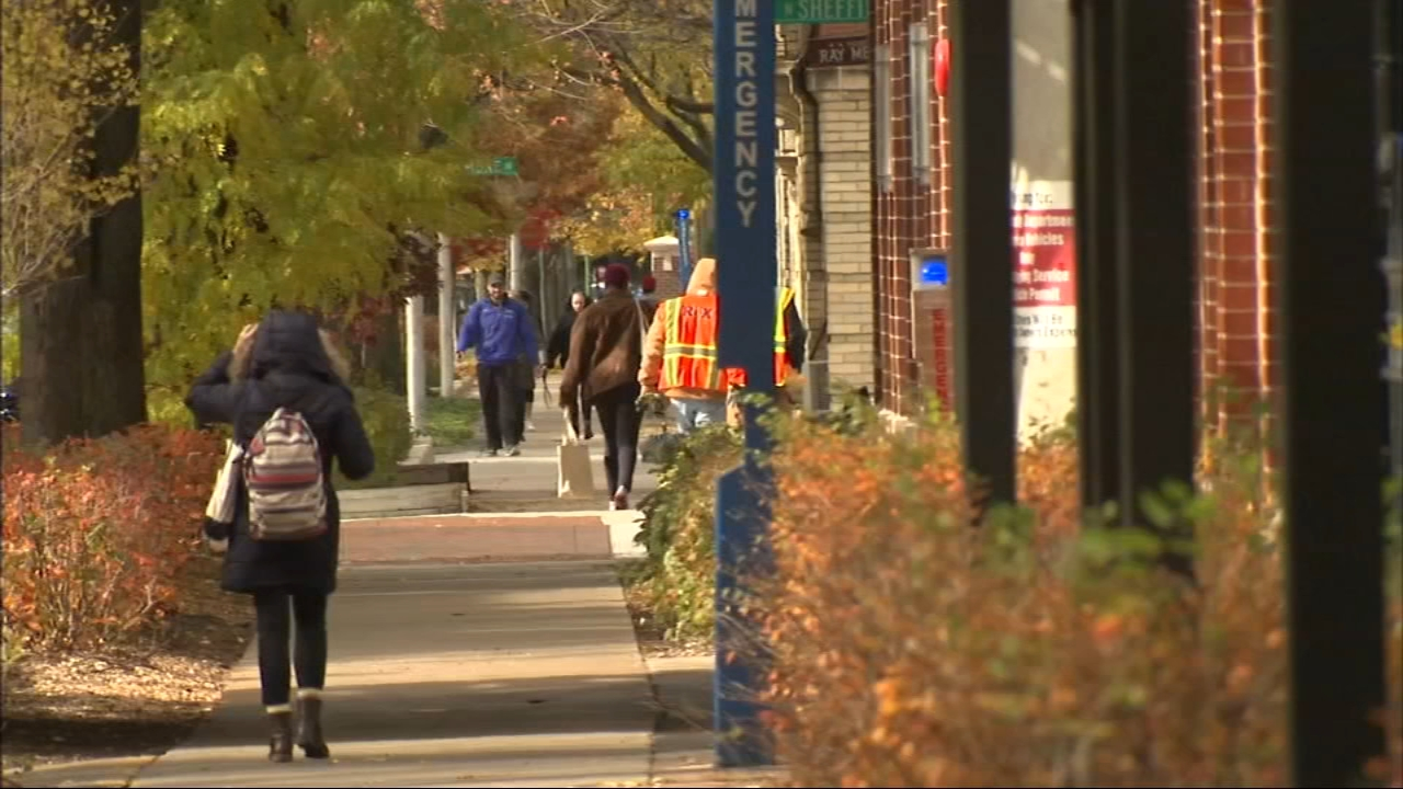 A DePaul University student was robbed at gunpoint Thursday night by a group of teenagers at the schools Lincoln Park campus, Chicago police said.