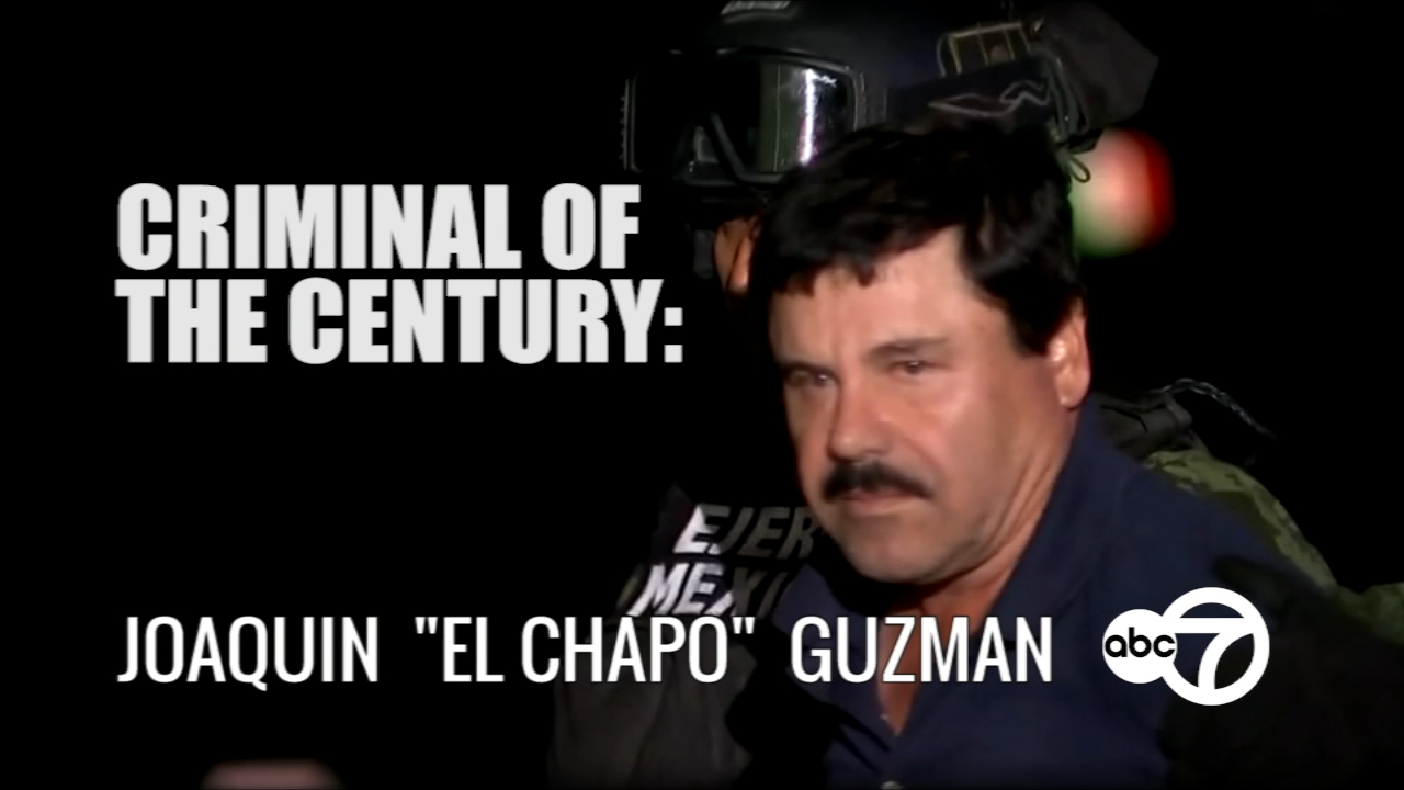 A timeline of Joaquin El Chapo Guzman from arrest, escape, capture, to trial.