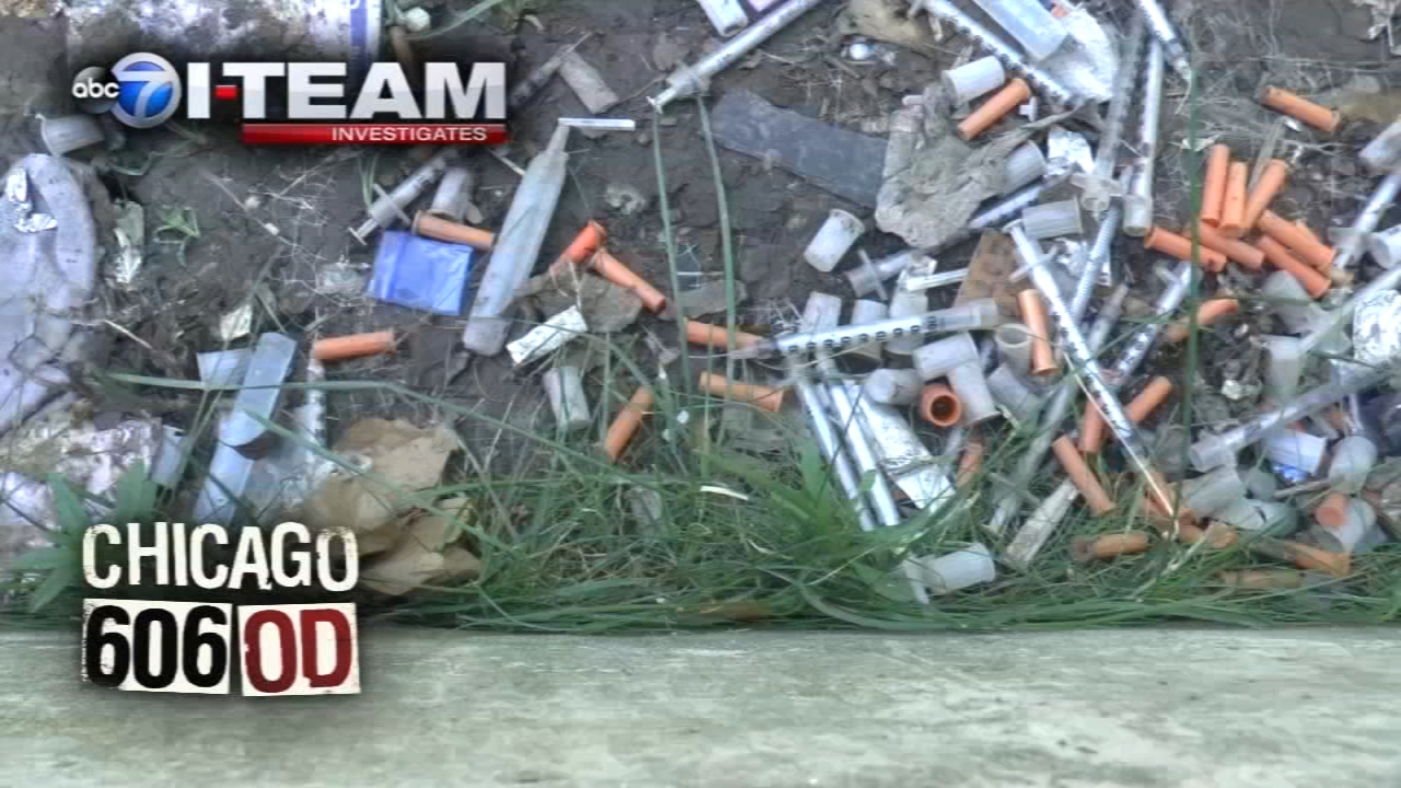 Chuck Goudie and the ABC7 I-Team have been reporting from the front lines of Chicago's opioid fight.