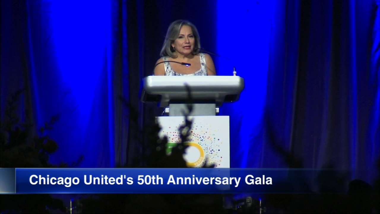 Chicago United held it  50th Anniversary Gala Friday.