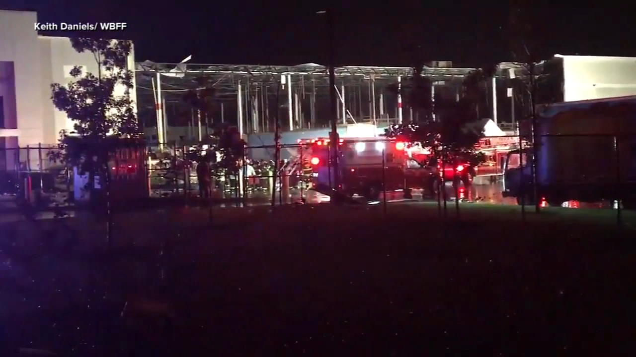 Two people are dead after an Amazon fulfillment center partially collapsed in Baltimore.