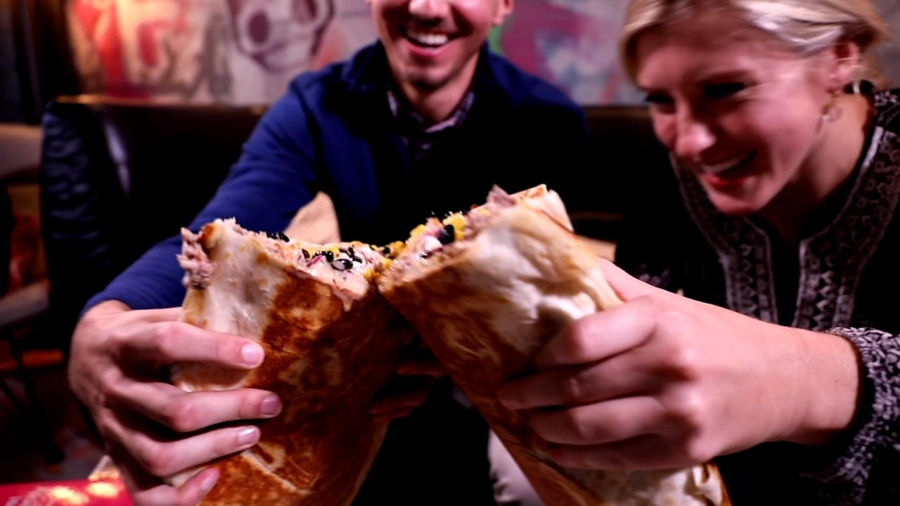 Zombie Taco offers a 17-pound burrito.