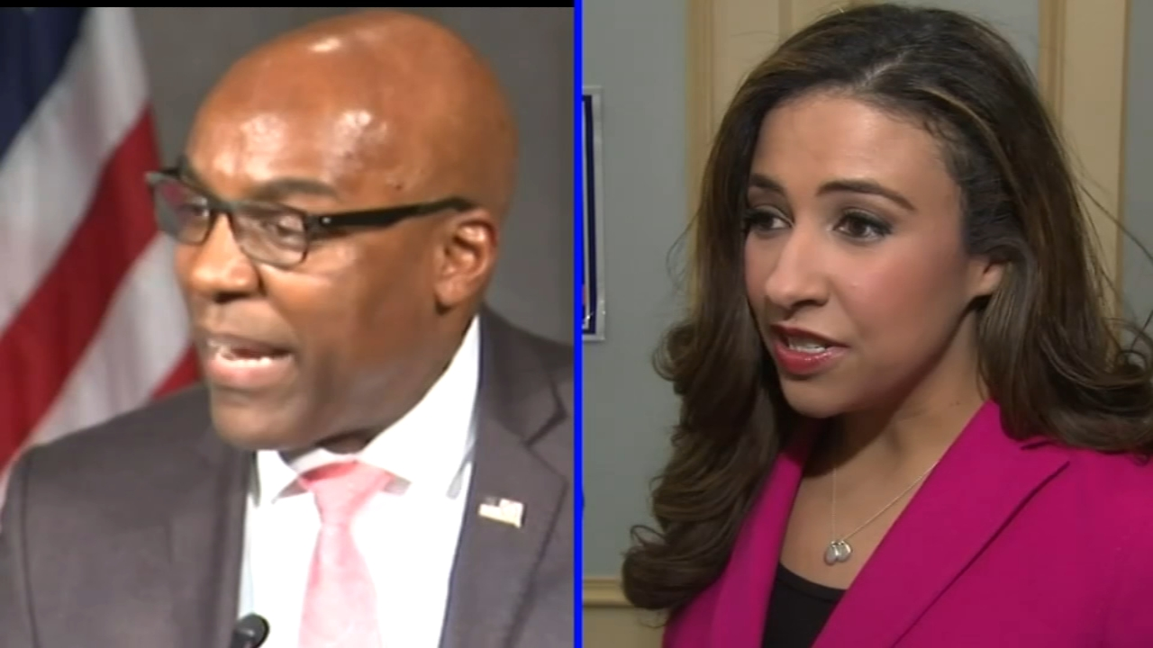 Republican and political newcomer Erika Harold is taking on Democratic State Senator Kwame Raoul in the race for Illinois attorney general.