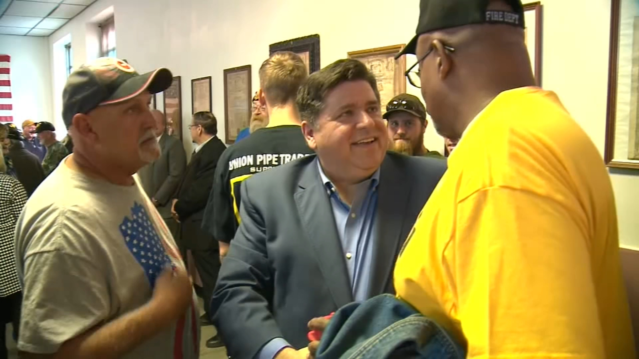 The final push is underway in the race for governor, with the candidates on a series of whirlwind stops around the state.