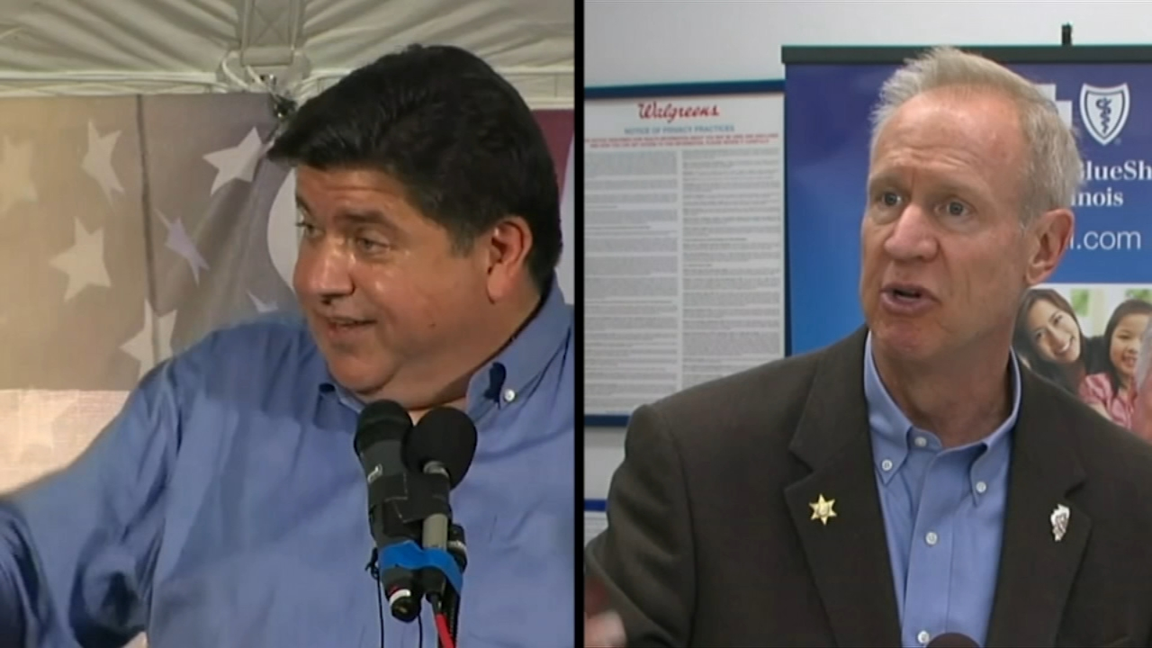 On the eve of Election Day, the candidates for Illinois governor are making their final push for votes.