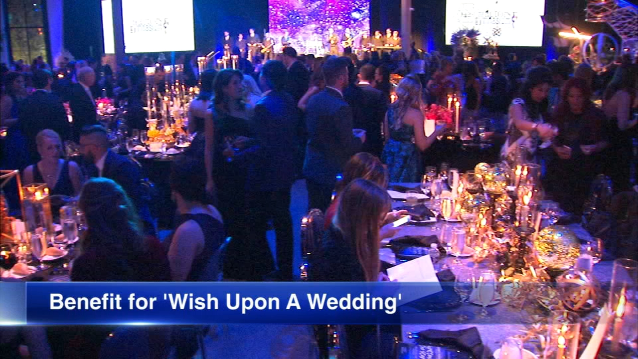 Hundreds came together Monday night for a ball benefiting Wish Upon a Wedding.