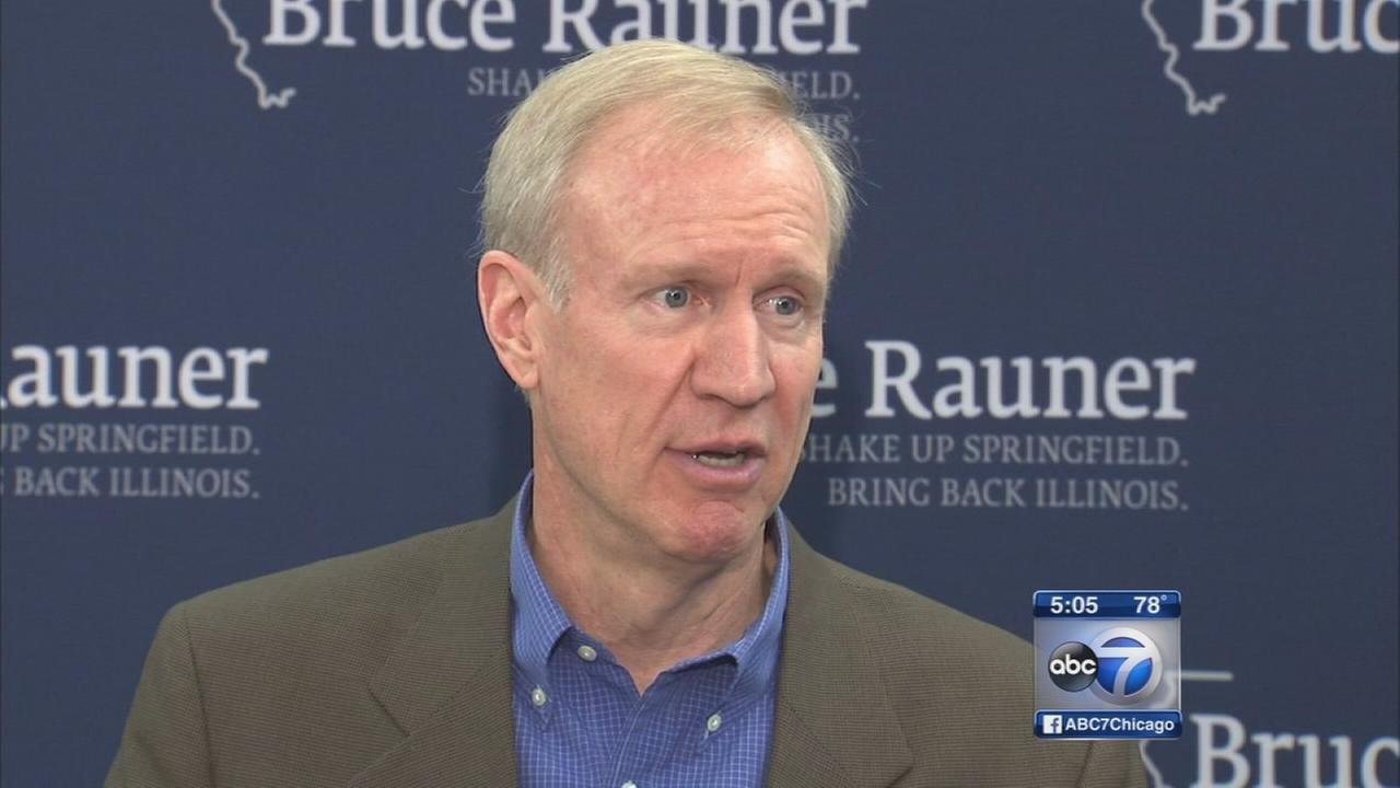 Rauner uses chickens to explain wasteful state spending