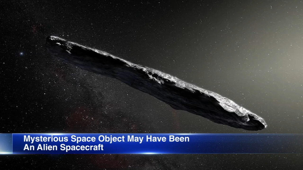 A mysterious cigar-shaped object spotted tumbling through our solar system last year may have been an alien spacecraft sent to investigate Earth, astronomers from Harvard Universit