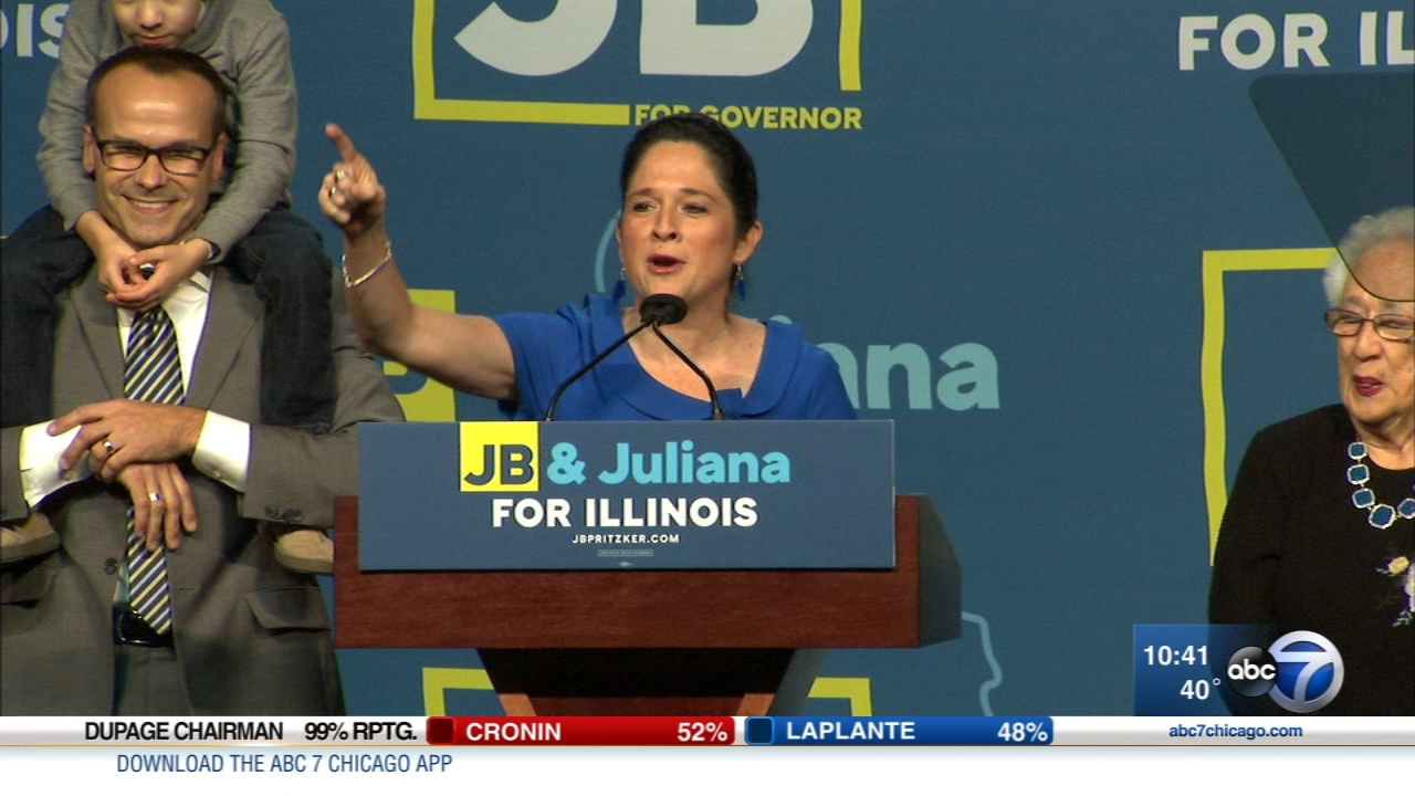Susana Mendoza was re-elected as Illinois comptroller after facing last-minute calls to drop out over a leaked video announcing a run for mayor.