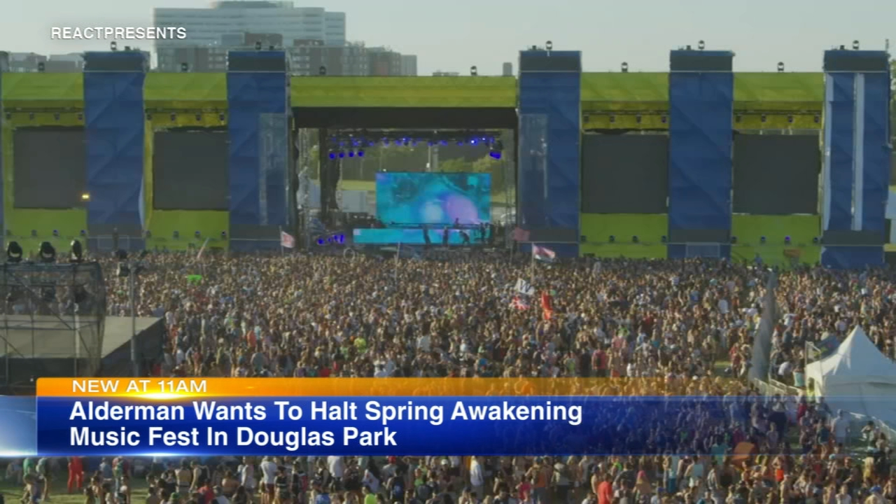 Spring Awakening Music Festival plans to return to Chicago for its eight annual installment June 7-9, 2019, but 12th ward alderman George Cardenas is fighting the new location.