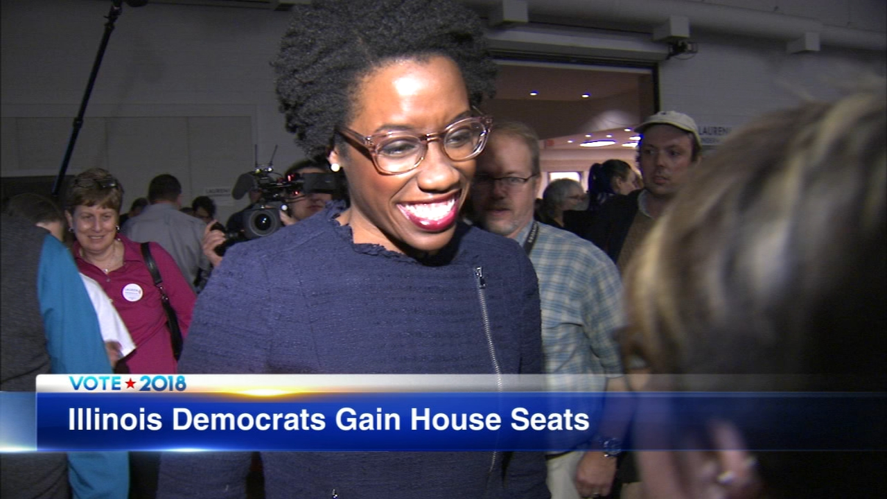 A wave of victories put Democrats in charge in the U.S. House and two of those wins were in Illinois.