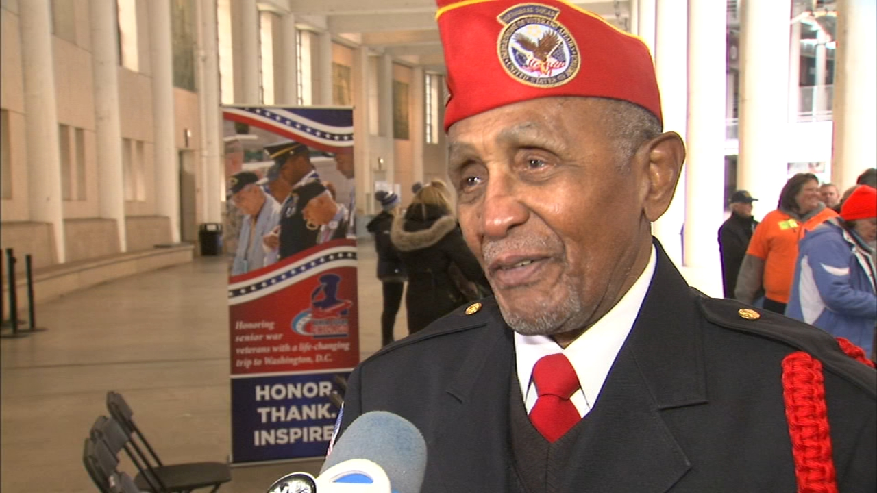 Vietnam War veteran Clifford Lauderdale is looking forward to taking honor flight to Washington, D.C., next year.