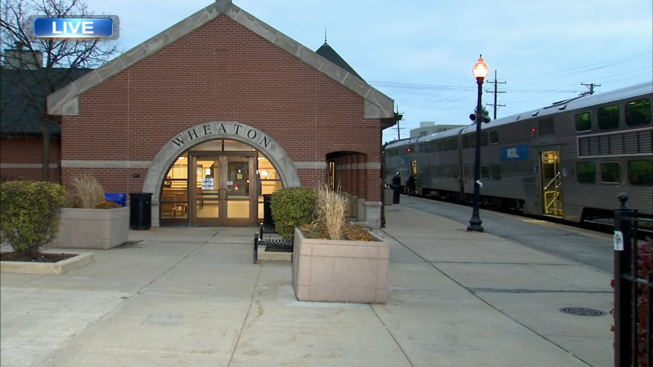 Wheatons Metra station is fully re-opened Wednesday morning for the first time since a fire almost a year ago.