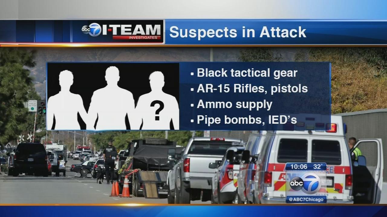 Suspect IDd in CA shooting rampage