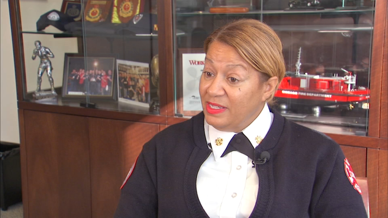 Annette Nance-Holt has had a busy week since she was appointed First Deputy Commissioner of the Chicago Fire Department. She is the first black woman to hold the position.