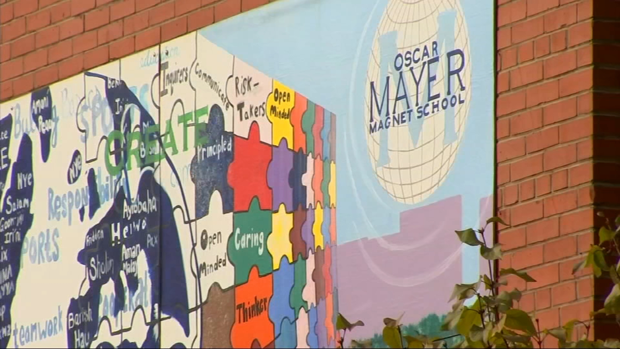 A Jewish student at Oscar Mayer Magnet School in Lincoln Park found a swastika and other derogatory symbols in his locker, according to school officials.