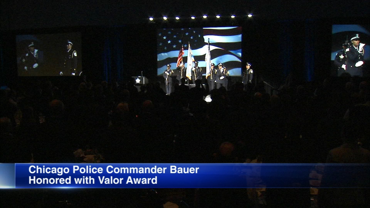 The Chicago Police Memorial Foundation hosted its inaugural Valor Awards dinner on Thursday.