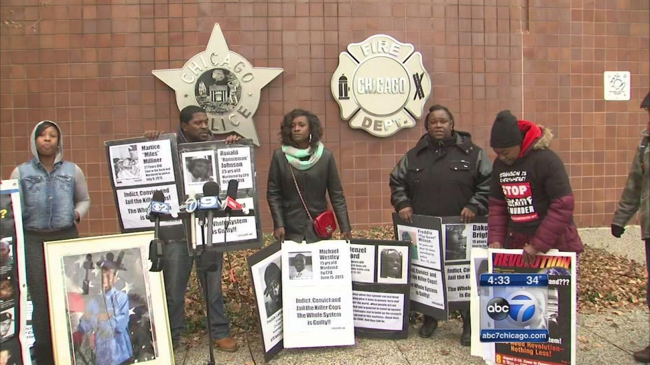 Mothers want justice for sons killed by police